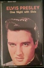 Elvis Presley one night with Elvis cassette tape