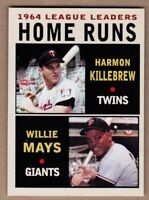 Harmon Killebrew & Willie Mays '64 Home Runs - Monarch Corona Leaders Series #6