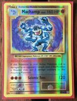 Pokemon Card  MACHAMP  REVERSE HOLO RARE  EVOLUTIONS  59/108 ***MINT***