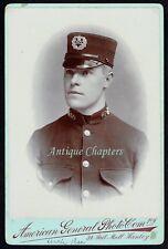 c.1900 Policeman Constable Hanley Police Stoke Staffordshire Cabinet Photograph