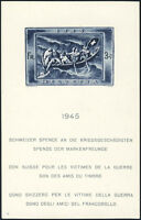 SCHWEIZ 1945, Block 11, tadellos postfrisch, Mi. 220,-
