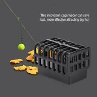 70g Carp Fishing Feeder Bait Cage Lure Holder Basket Trap Lead Sinker Tackle❤D