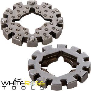 Silverline Multi-Cutter Adaptor Bosch Fein Worx Dremel Tool Blades 28 x 3mm