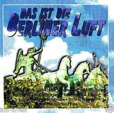 """""""This is the Berliner air""""old BERLIN CD BMG Ariola 1997 NIP"""
