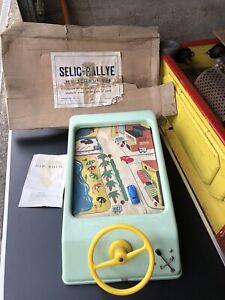 Jouet Ancien Selic Rallye NOREV Jeu Scientifique avec boîte