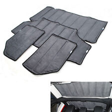 fit 2012-2017 Jeep Wrangler 4dr Car Top Roof Sunshade Cover UV Protection Cotton