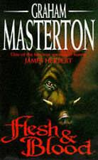 Flesh & Blood - Graham Masterton - paperback