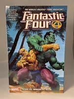 "FANTASTIC FOUR VOL. 4 ""THING VS. IMMORTAL HULK"" by Dan SLOTT"