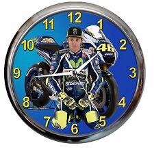 orologio NUOVO da parete VALENTINO ROSSI moto  meccanico officina 2
