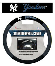 NEW YORK YANKEES MESH SUEDE CAR STEERING WHEEL COVER MLB BASEBALL