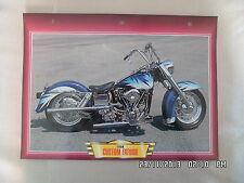 CARTE FICHE MOTO CUSTOM FATBOB   1996