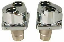 CHROME TAPPET BLOCKS EVOLUTION EVO HARLEY SOFTAIL DYNA FXR FXRS TOURING 84-99
