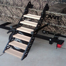 Wag Dog Boarding Steps for Hunting/Fishing Boats (vs. Ladders/Ramps/Platforms)