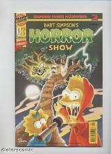 BART SIMPSONS HORROR SHOW # 1 - DINO VERLAG 1998 - TOP + RAR