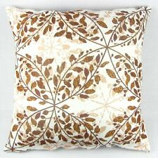 "PI09 Multi-color Brown Leaves Throw Pillow Case Decor Cushion Cover 20"" Square"