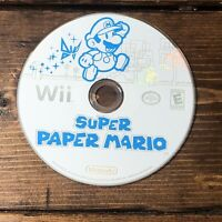 Super Paper Mario (Nintendo Wii, 2007)- DISC ONLY