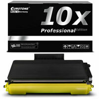 10x Eurotone Pro Cartucho Compatible para Brother MFC-8380-DN DCP-8070-D