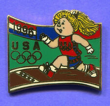 1996 OLYMPIC AHTLETICS PIN CABBAGE PATCHWOMENS TRACK PIN OLYMPIC KIDS LARGE PIN