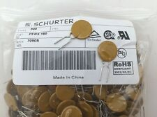 25 pcs Resettable Fuse PFRX.185 Schurter 60vdc 1.85A Hold Current