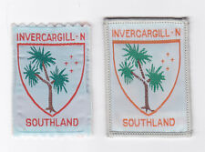 SCOUTS OF NEW ZEALAND - NZ SOUTHLAND INVERCARGILL NORTH SCOUT DISTRICT BADGE (2)