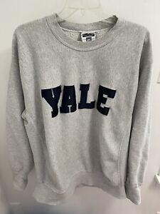 VTG lee embroidered Yale crew sweatshirt XL