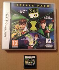 Ben 10 Triple Pack 3 In 1 Game For Ds Dsi Ds Lite 3Ds Nintendo **99p UK P&P**.