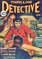THRILLING DETECTIVE Magazine 19 Issue Collection On Disc