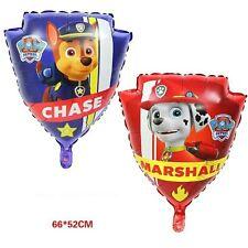 XL PAW PATROL BALLOONS CHASE MARSHALL PUPPY DOG SUPPLIES LATEX FOIL BOY