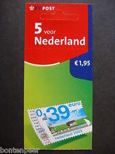 NVPH PB 77 POSTFRIS 5 VOOR NEDERLAND 2002 CAT.WRD. 3,50 EURO