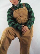 Carhartt Men's Duck Bib Overall Quilt Lined 100% Cotton,  48 x32  NYZ4