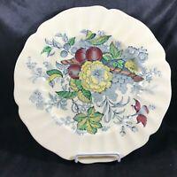 "Vintage Royal Doulton The Kirkwood Multicolor 10-1/2"" Dinner Plate"