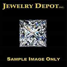 1.02 CARAT E-COLOR VS1-CLARITY PRINCESS CUT DIAMOND – GIA CERTIFIED – IDEAL CUT