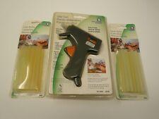 Hot Melt Glue Gun + Extra Glue Sticks, DIY Applicator Mini Kit Arts Crafts