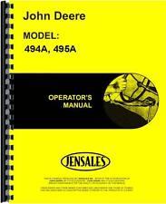 John Deere Corn Planter Operators Manual (Jd-O-Omb25384)