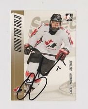 Cheryl Pounder ITG Going for Gold Team Canada Women's Hockey Autographed Card B