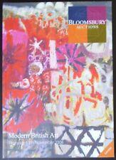 Auction Catalogue Bloomsbury London Modern British Art November 13, 2008
