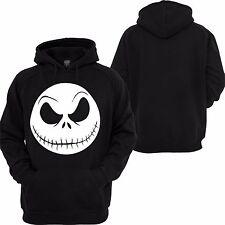 Nightmare Before Christmas Hoodie Jack Skellington Face Disney Custom Sweatshirt