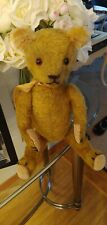 "Antique Vintage Jointed  TEDDY BEAR 19-20 "" long. Very adorable!"