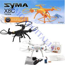 RC QUADRICOTTERO - DRONE SYMA X8C TELECAMERA HD Headless mode + ALLARM VOLTAGE