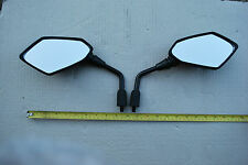 PAIR OF 10mm MIRRORS E MARKED FOR HONDA CB600F HORNET 2007 TO 2013