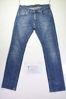 Lee Boyfriend Code Y1251 tg47 W33 L34 jeans taille haute d'occassion vintage