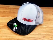 GMC Hat Cap Snapback, Sierra, Denali, Cayon, Yukon, Truck Racing, Richardson 112