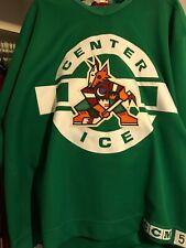 NHL PHOENIX COYOTES VINTAGE GAME USED PRACTICE  HOCKEY JERSEY