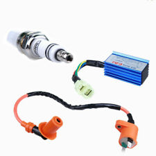 Performance Racing CDI+Ignition Coil+Spark Plug Gy6 50/125/150cc Scooter AT Q3N7