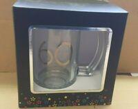 60th Birthday Large Beer Glass Tankard in Presentation Gift Box
