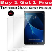 "New Genuine Tempered Glass Screen Protector For Samsung Galaxy Tab A 10.1"" T580"