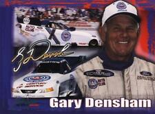 2002 Gary Densham AAA Ford Mustang Funny Car NHRA postcard