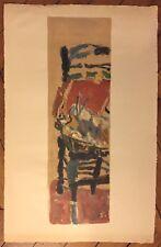 Jean Pougny lithographie signée art abstrait abstraction russe