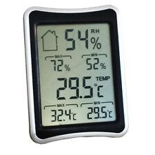 Mini Numérique LCD Intérieur Température Humidité Thermomètre Hygromètre Maison