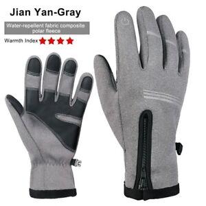 WheelUp Cycling Non-slip Warm Full Finger Glove Reflective Winter Mountain Glove